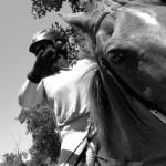 elise on horse